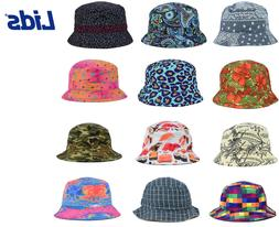reversible printed bucket sun hat many styles