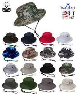 Safari Bucket Hat Boonies Hunting Fishing Outdoor Cap Washed