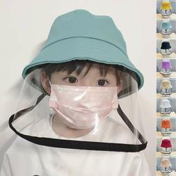 Safety Facial Protective Bucket Hat Outdoor Boonie Fisherman