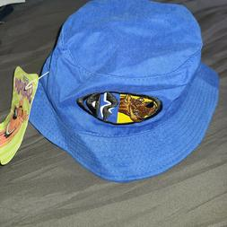 Scooby Doo Vintage 2000 Cartoon Network Blue Bucket Hat Cap