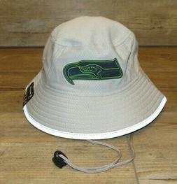Seattle Seahawks New Era Training Camp Gray Bucket Fishing H