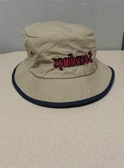 Soundings Soft Sided Tan Bucket Hat The Boating Newspaper Su