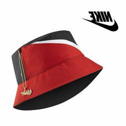 Nike Sportswear Swoosh Reversible Bucket Hat w/ Gold Hat Cha