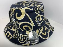 St. Louis RAMS Team NFL '47 Brand Bravado Bucket Hat One Siz