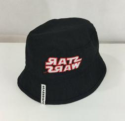 Star Wars Bucket Hat Boys NWT Reversible Graphic Black Storm