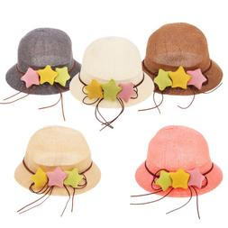 f510eb73c94 Straw Hat Baby Hats For Girls Bucket Hat Boys Cap Kids Sun S