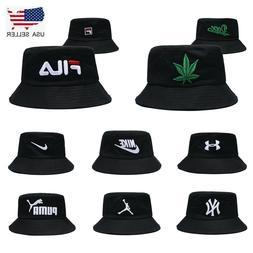 Street Fashion Bucket Hat Cap Cotton Boonie Brim Visor Sun S