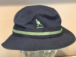 Kangol  Striped Lahinch   100% Cotton  Blue Greens Bucket Ha