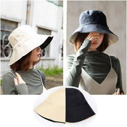 Summer Fashion Outdoor Beach Bucket Hat Boonie Fishing Hunti
