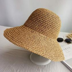Summer Fashion women Straw Hat Lady Sun girl Outdoor Beach S