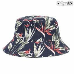 XdanqinX Summer Ladies Cotton Cloth Bucket Hats Fashion Nove