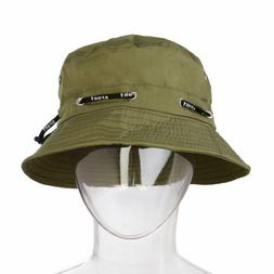 Summer Men Women Bucket Cap Cotton Polyester Hip Hop Beach F