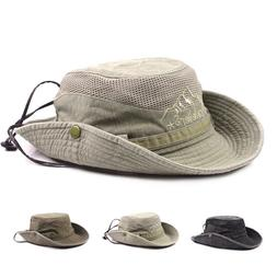 Summer Sun Protection Hunting Fishing Hiking Bucket Hat Caps