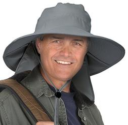 Sun Blocker Outdoor Sun Protection Fishing Cap with Neck Fla