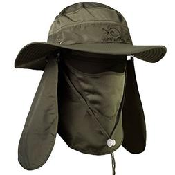 sun protection fishing cap neck