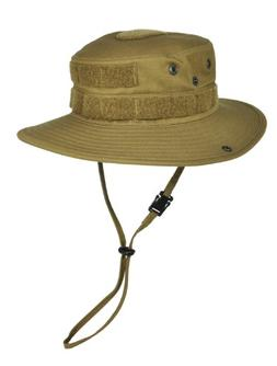 HAZARD 4 SunTac Cotton Boonie Hat with Molle, Coyote, Regula