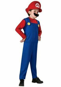Super Mario Child Costume - Size: Small