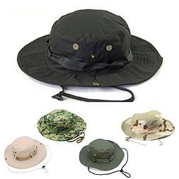 Tactical Boonie Hat Summer Outdoor Sun Protection Hats, AYAA