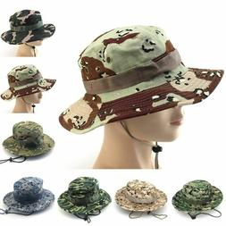 Tactical Men Hats Accessories Camouflage Bucket American Arm