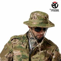 Tactical Airsoft Sniper Camouflage Bucket Boonie Hat Summer
