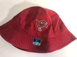 tampa bay buccaneers adult red cotton bucket