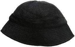 DECKY Terry Bucket Hats, Black