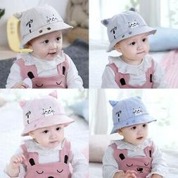 toddler baby boy girl summer bucket hats
