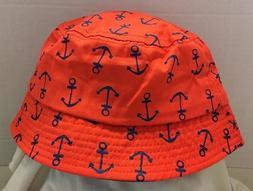 Toddler Boys Girls Bucket Hats Sun Hat Caps Red Navy Blue An