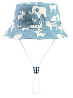 Eriso Toddler Dinosaur Hat Sun Protection Animal Bucket with