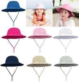 Summer Boys Girls Baby Toddler Sun Hat Outdoor Travel Beach