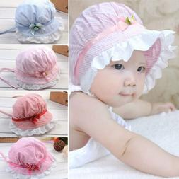 Toddler Infant Baby Girls Outdoor Bucket Hats Summer Sun Bea 14c2819fa19c