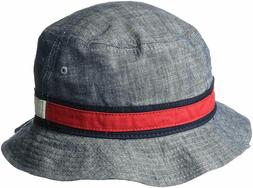 Tommy Hilfiger Men's Dad Hat Flag Bucket Cap