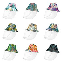 Tropical Fashion Bucket Hat for Men Women Sun UV Protection