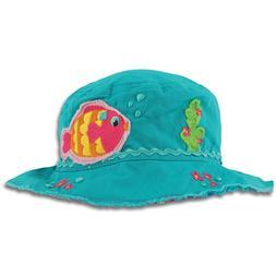 Stephen Joseph Tropical Fish Bucket Hat for Kids - Sun Hat f