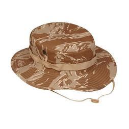 Tru-Spec 3216 Cotton Rip-Stop Boonie Hat, Bucket Hat, Desert