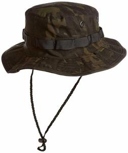 Tru-Spec Military Style Boonie, Multi Camouflage Black, Size