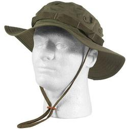 U.S MILITARY STYLE OD GREEN BOONIE  BUCKET FLOPPY HAT SIZE 7