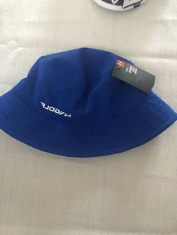Under Armour UA Golf Bucket Hat Boys Golf Headwear Blue Yout
