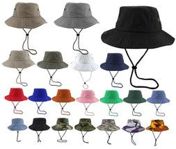 Gelante Unisex 100% Cotton Bucket Hat Fishing Camping Safari