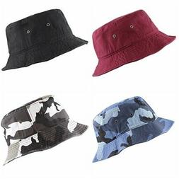 THE HAT DEPOT Unisex 100% Cotton Packable Summer Travel Buck