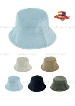 Unisex Adults Kids Summer Bucket Boonie Hat Reversible Water