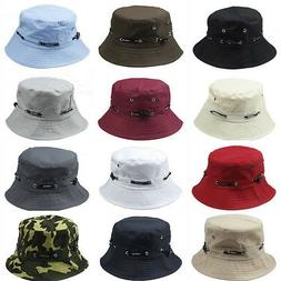 Unisex Bucket Hat Boonie Hunting Fishing Outdoor Cap Men's S