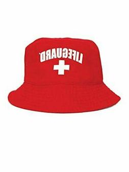 LIFEGUARD Unisex Bucket Hat  Red