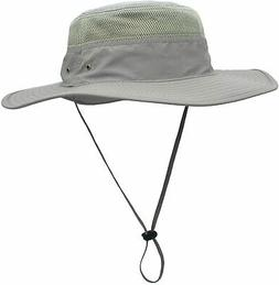 Home Prefer Unisex Daily Outdoor Sun Hat Camouflage Mesh Buc