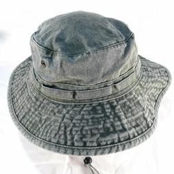 Unisex DPC Dorfman Pacific Co Olive Green Cotton Bucket Hat