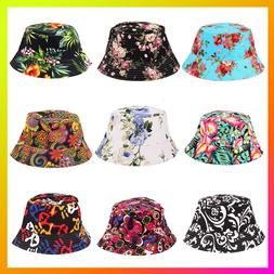 Outdoor Unisex Floral Sun Hats Funny Summer New Holiday Nove