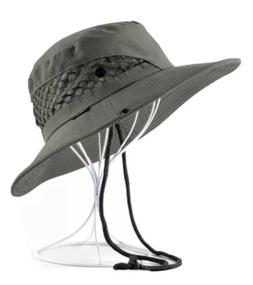 UNISEX Men Women Green bucket boonie outdoor sun safari Hat