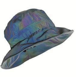 CC Unisex Outdoor Waterproof Reflective Bucket Sun Hat