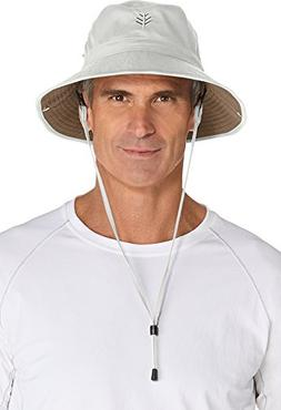 Coolibar UPF 50+ Men's Featherweight Bucket Hat - Sun Protec