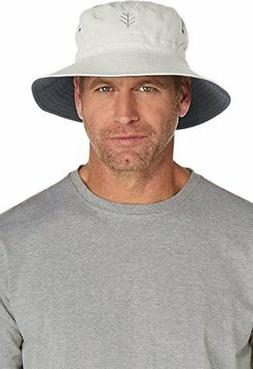 UPF 50+ Men's Reversible Bucket Hat  Sun ProtectiveSmall/Med